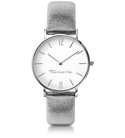 Daniela, Silver Metallic White