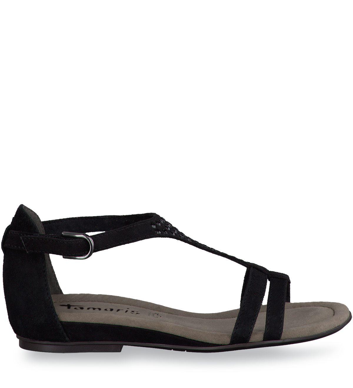 tamaris sandalen rice schwarz g nstig schnell einkaufen. Black Bedroom Furniture Sets. Home Design Ideas